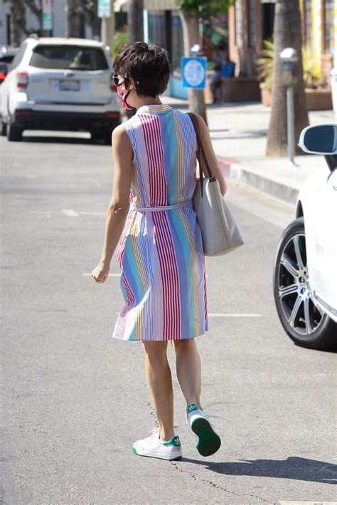 Alfred {coffee + kitchen}'s fourth location, in the heart of studio city! SELMA BLAIR at Alfred's Coffee in Studio City 08/25/2020 - HawtCelebs