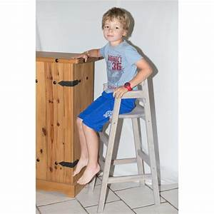 Chaise Bois Enfant : chaise haute enfant pour table bar ~ Teatrodelosmanantiales.com Idées de Décoration