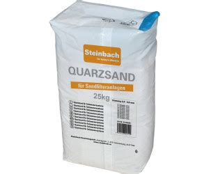 quarzsand 25 kg steinbach quarzsand 25 kg 0 7 1 2 mm ab 8 83