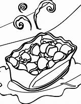 Salad Potato Coloring Template Drawing Drawings Mewarnai Lazy Chibi Kleurplaten Draw sketch template