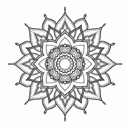 Mindfulness Coloring Pages Mandalas Colouring Concentration Mandala