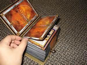 custom spell book deck box artwork creativity