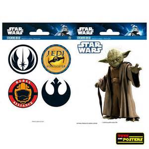 home interior collectibles wars mini stickers yoda symbols toys and posters