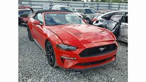 Ford Mustang V4 for sale: AED 80,000. Red, 2018
