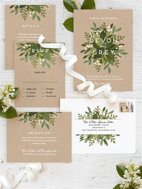 the 25 best wedding invitations ideas on