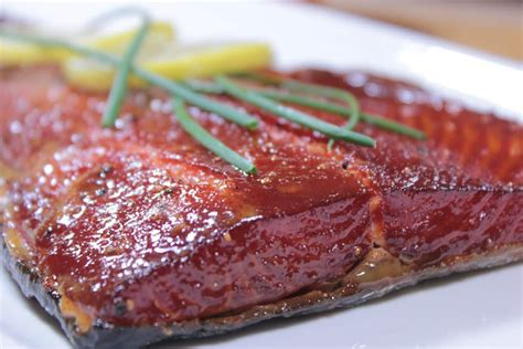 maple glazed smoked salmon smoking meat newsletter