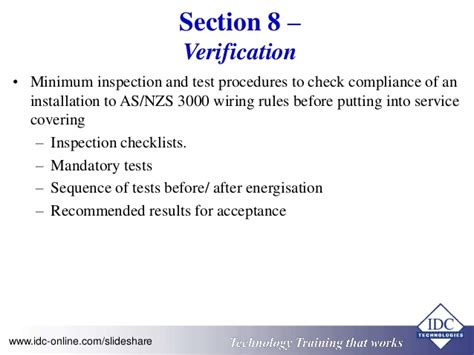 section 8 inspection results practical electrical wiring standards as 3000 2007