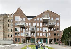 architektur kopenhagen schulerweiterung in kopenhagen frederiksberger giebelcollage architektur und architekten