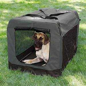 guardian gear nylon and steel soft sided collapsible dog With nylon collapsible dog crate
