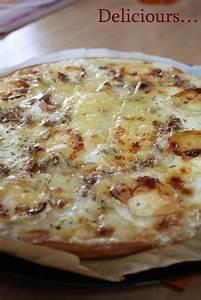 Recette Pizza Chevre Miel : recette pizza maison chevre miel ~ Melissatoandfro.com Idées de Décoration