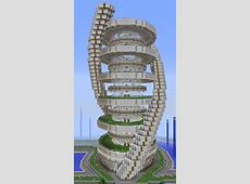 Futuristic Modern Sightseeing Building 1 GrabCraft
