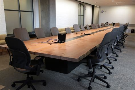 live edge dining room table wood conference tables meyer reclaimed wood