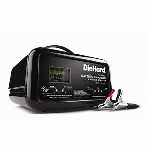 Diehard 10  2  50 Amp  Battery Charger  Charge With Sears
