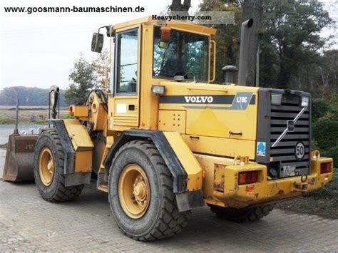 volvo l70 1999 wheeled loader construction equipment and specs