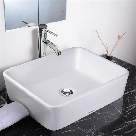 Bathroom Sink Vessel by Aquaterior Bathroom Porcelain Ceramic Vessel Sink Bowl W