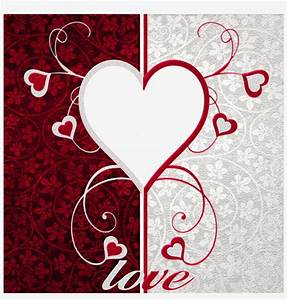 Love, With, Hearts, Png, Photo, Frame