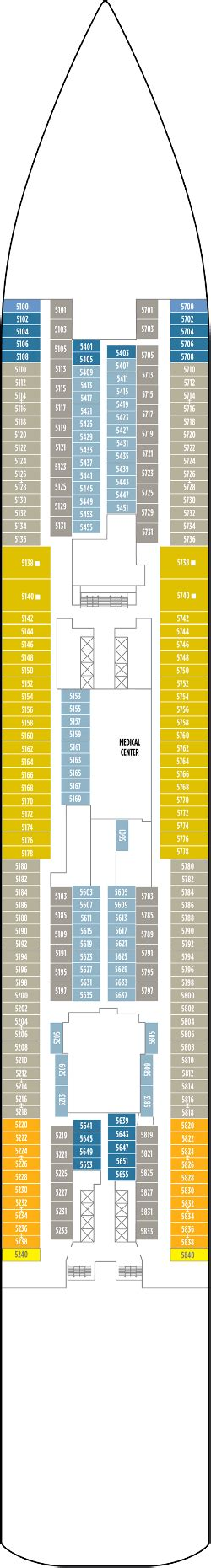 Breakaway Deck Plan 8 by Cruises Ship Breakaway