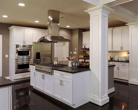 kitchen columns ideas pictures remodel  decor