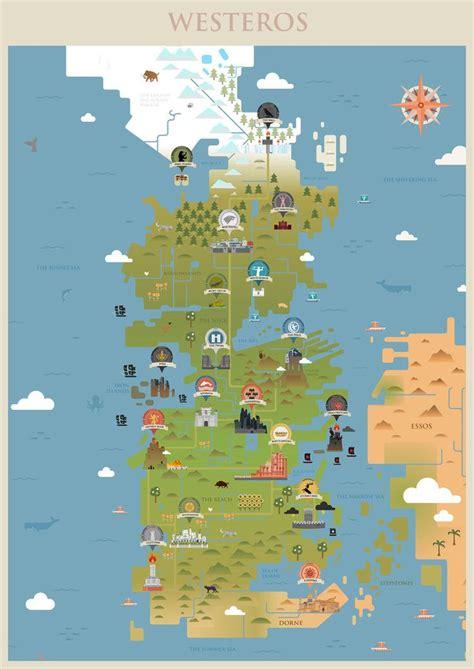 game  thrones westeros map  sanjota  deviantart