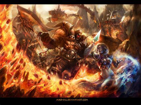 siege maje siege of orgrimmar by mad on deviantart