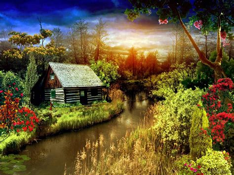 Image Detail For Most Beautiful Scenery Nature Colors