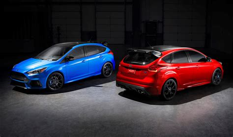 ford focus rs limited edition priced