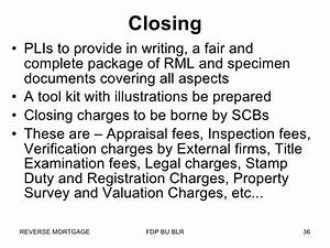 reverse mortgage in india With reverse mortgage closing documents