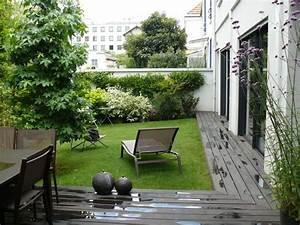 Petit Jardin Moderne : jardin contemporain 30 id es d 39 am nagement ~ Dode.kayakingforconservation.com Idées de Décoration