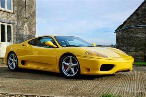 yellow ferrari  modena  auto restorationice