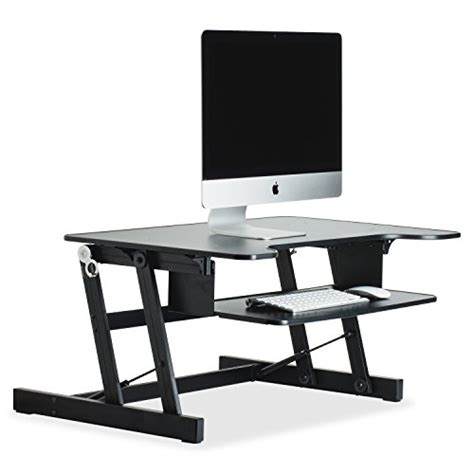 lorell sit to stand desk riser lorell sit to stand monitor riser llr81974 electronics