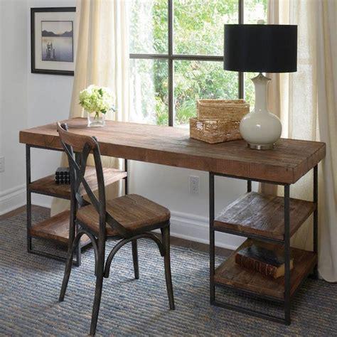 planche de bois pour bureau 1001 idées bureau diy planchez sur ces 44 modèles