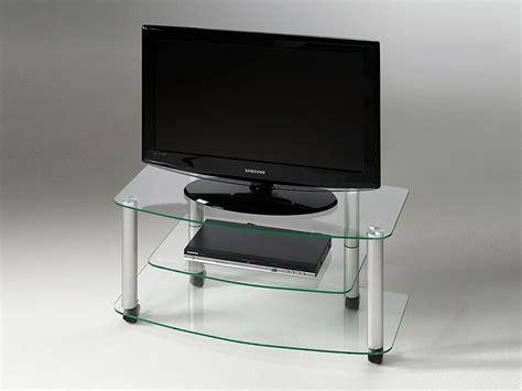 meuble tv en verre design meuble tv 224 roulettes en verre millenium