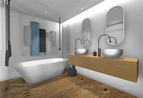 Modern Bathroom In by Minosa Sydney City Apartment Modern Bathroom Design