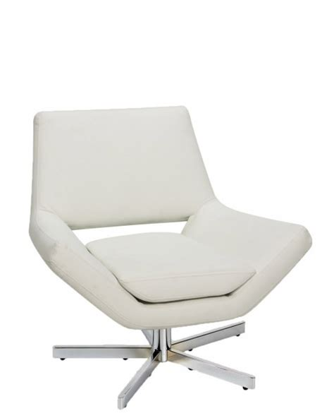 white vinyl lounge chair chr011855 arenson office