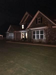 Piece residential led solar spotlight landscape lighting