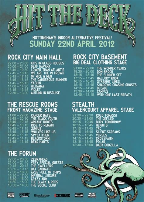 deck the 2012 lineup hit the deck festival stage splits and times htf magazine