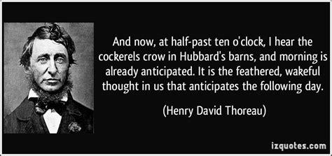 And Now, At Half-past Ten O'clock, I Hear The Cockerels