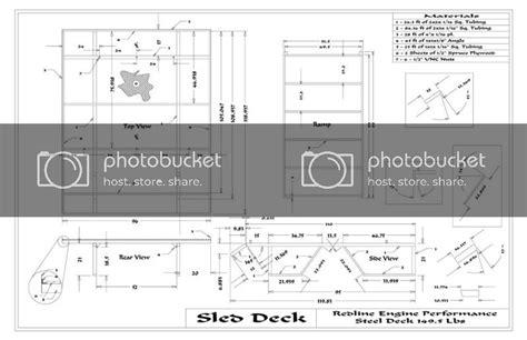 sled deck plans plans diy   homemade wooden