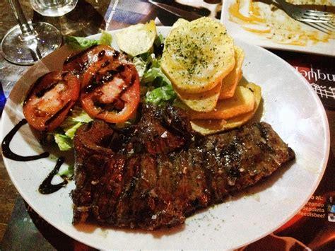 argentinean cuisine argentinian food in cordoba spain la tranquera restaurante