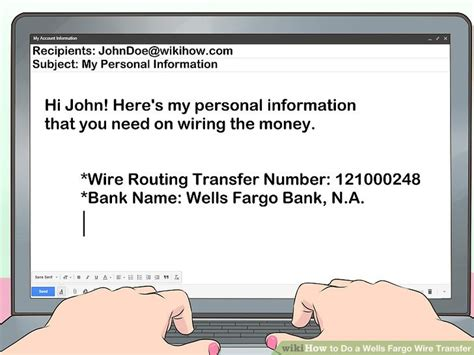 Ways Wells Fargo Wire Transfer Wikihow