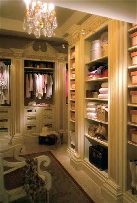 the shelving and column look walk in closet dressing