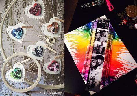 21 Impressive Diy Valentine Gifts Of Melted Crayons