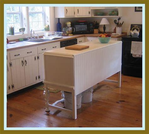 narrow kitchen island ideas buffet into kitchen island home ideas decor