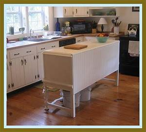 buffet into kitchen island Dream Home- Ideas/Decor