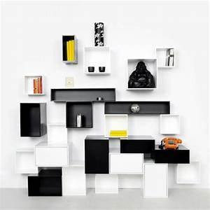 Trendy ideas interior design – Modular shelving for the