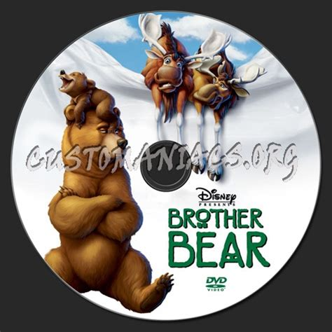 brother bear dvd label dvd covers labels