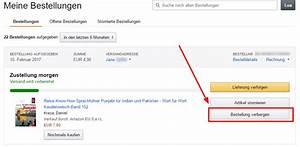 Amazon Mit Rechnung Bezahlen : alte bestellungen bei amazon l schen tipps tricks ~ Themetempest.com Abrechnung
