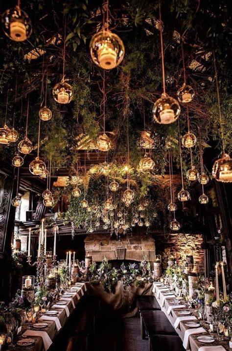 enchanted forest wedding themed ideas