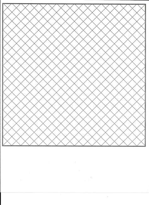 diagonal squares  point graph paper     map