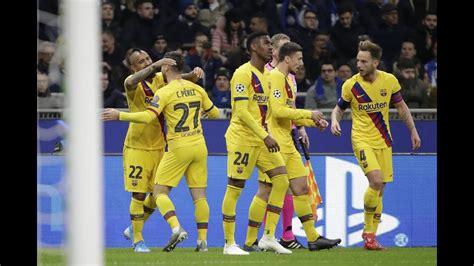 INTER DE MILAN VS BARCELONA 1-2 RELATO EUFORIO COPE ...
